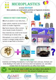Microplastics Schools Poster